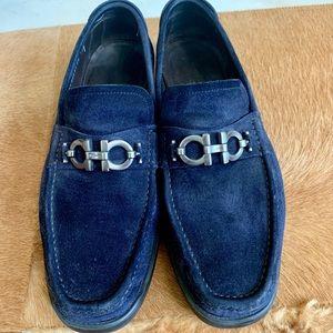 Ferragamo suede loafers
